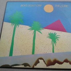 Discos de vinilo: THE CURE - BOYS DON'T CRY - LP - 1979 - USA - BUEN ESTADO. Lote 132758942