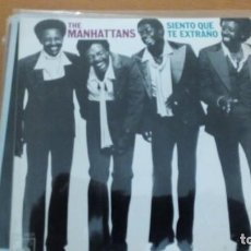 Discos de vinilo: THE MANHATTANS SIENTO QUE TE EXRAÑO SINGLE SPAIN. Lote 132770362