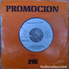 Discos de vinilo: MARIA DEL MAR BONET. VOLDRIA TORNAR BELLVEURE/ SA DES CAVALLERS, ARIOLA SPAIN 1979 PROMOCIONAL PROMO. Lote 132780218