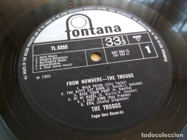 Discos de vinilo: THE TROGGS - FROM NOWHERE - UK ORIGINAL 1st LP - 1966 FONTANA - VINILOVINTAGE - Foto 5 - 132782010