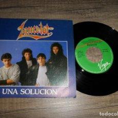 Discos de vinilo: LANCELOT - UNA SOLUCION (PROMOCIONAL). Lote 132786778