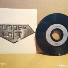 Discos de vinilo: JUMPER LACE SINGLE GUERNICA + THE ASS OF LACE PROMOCIONAL. Lote 132788822