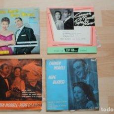 Discos de vinilo: LOTE 4 EP'S CARMEN MORELL Y PEPE BLANCO. Lote 132789134