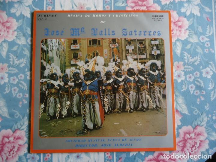 DISCO DE VINILO MUSICA DE MOROS Y CRISTIANOS DE ALCOY DE JOSÉ M VALLS SATORRES,JA BAIXEN VOL 5 1983 (Música - Discos - LP Vinilo - Orquestas)