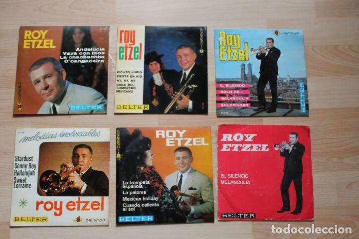 LOTE 6 EP'S ROY ETZEL (Música - Discos de Vinilo - EPs - Jazz, Jazz-Rock, Blues y R&B)