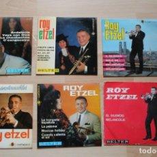 Discos de vinilo: LOTE 6 EP'S ROY ETZEL. Lote 132792066