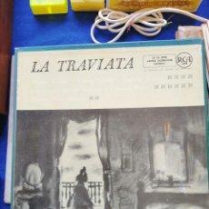 Discos de vinilo: LA TRAVIATA LP 3 EN CAJA NUEVOS DE LUJO. Lote 132797681