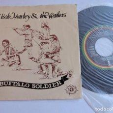 Discos de vinilo: BOB MARLEY & THE WAILERS - BUFFALO SOLDIER 7'' SINGLE PROMO. Lote 132799414