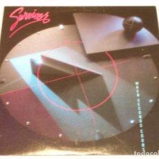 Discos de vinilo: SURVIVOR ( WHEN SECONDS COUNT ) CANADA - 1986 LP33 SCOTTI BROS RECORDS. Lote 132805894