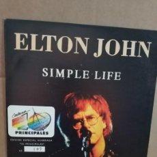 Discos de vinilo: ELTON JOHN EDICIÓN ESPECIAL NUMERADA PARA 40 PRINCIPALES. Lote 132808122