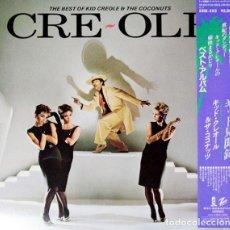 Discos de vinilo: KID CREOLE & THE COCONUTS - CRE~OLÉ - THE BEST - LP JAPON. Lote 132821310