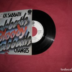 Discos de vinilo: BLACK SABBATH - SABBATH BLOODY SABBATH // SINGLE // 1973 / SPA. Lote 132826534