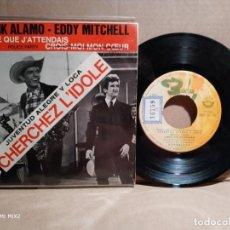 Discos de vinilo: FRANK ÁLAMO - EDDY MITCHELL FILM JUVENTUD ALEGRE Y LOCA 1964. Lote 132833858