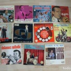 Discos de vinilo: LOTE 11 EP'S GEORGES JOUVIN. Lote 132838618