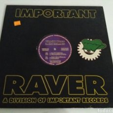 Discos de vinilo: LIQUID BASS - IN FULL EFFECT EP. Lote 132843283