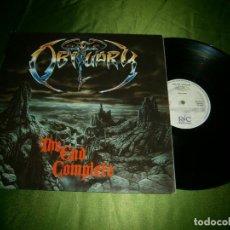 Discos de vinilo: LP OBITUARY THE END COMPLETE RC9201 1 AÑO 1992. Lote 132875562