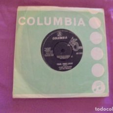Discos de vinilo: CLIFF RICHARDS & THE SHADOWS. TRUE, TRUE LOVIN´/ CONSTANTLY. COLUMBIA, 1964. EDC. INGLESA. Lote 132876650