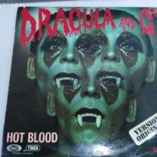 Discos de vinilo: DISCO LP DRACULA AND C HOT BLOOD. Lote 132878290