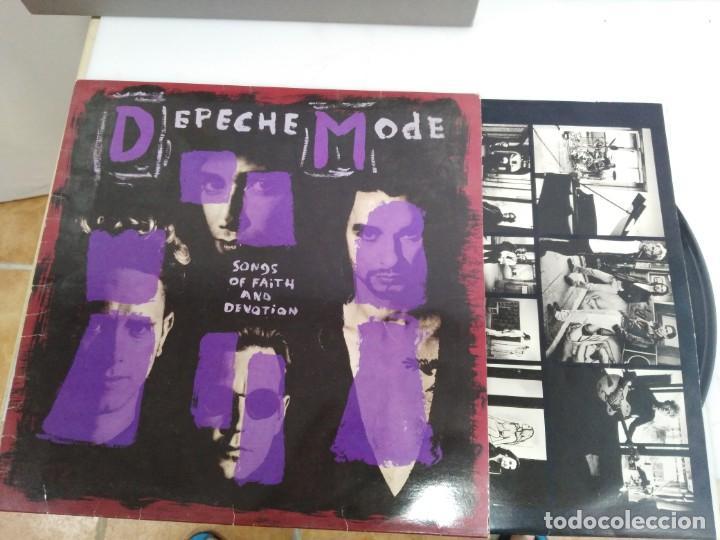 DISCO LP DEPECHE MODE SONGS (Música - Discos - Singles Vinilo - Techno, Trance y House)