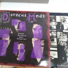 Discos de vinilo: DISCO LP DEPECHE MODE SONGS. Lote 132878950