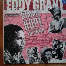 Discos de vinilo: EDDY GRANT - GIMME HOPE JO'ANNA (MX) 1988. Lote 132881302
