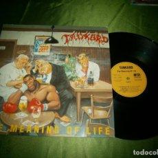 Discos de vinilo: LP TANKARD THE MEANING OF LIFE 1990 N 0156-1 TRASH METAL GERMAN VINYL NEAR MINT . Lote 132885142