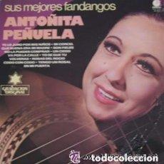 Discos de vinilo: ANTOÑITA PEÑUELA - SUS MEJORES FANDANGOS - LP IMPACTO SPAIN 1978. Lote 132908770