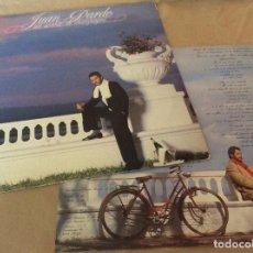 Discos de vinilo: JUAN PARDO - UN SORBITO DE CHAMPAGNE. HISPAVOX 1984. CONTIENE ENCARTE.. Lote 132910894