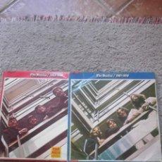 Discos de vinilo: 2 LP DE LOS BEATLES-PRIMERA EDICION-PORTADA LAMINADA. Lote 132914170