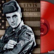 Discos de vinilo: ELVIS PRESLEY * VINILO ROJO HQ REMASTERED * G.I. BLUES * ULTRALIMITADO A 500 COPIAS NUMERADAS. Lote 150243409