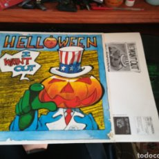Discos de vinilo: HELLOWEEN MAXI I WANT OUT INGLATERRA 1988. Lote 132920345