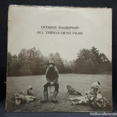 Discos de vinilo: GEORGE HARRISON - BEATLES - ALL THINGS MUST PASS - AUSTRALIA - 3 LPS - NO CAJA - VER DESCRIPCION. Lote 132926114