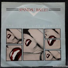 Discos de vinilo: SPANDAU BALLET - SHE LOVED LIKE DIAMOND - SINGLE - PROMOCIONAL - ESPAÑA - 1982. Lote 132928470