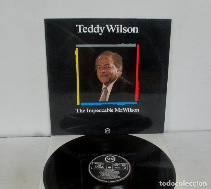 TEDDY WILSON - THE IMPECCABLE MR WILSON - LP - VERVE 1988 SPAIN MAESTROS DEL JAZZ VINILO N MINT (Música - Discos - LP Vinilo - Jazz, Jazz-Rock, Blues y R&B)
