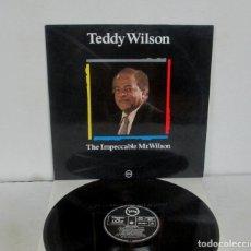 Discos de vinilo: TEDDY WILSON - THE IMPECCABLE MR WILSON - LP - VERVE 1988 SPAIN MAESTROS DEL JAZZ VINILO N MINT. Lote 31069719