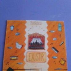 Discos de vinilo: RARO/JOYA LP ORIGINAL MADREDEUS - EXISTIR, EDICCIÓN PORTUGUESA AÑO 1990, EMI 7946471+ENCARTE. Lote 132946694