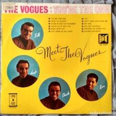 Discos de vinilo: THE VOGUES - MEET THE VOGUES / YOU'RE THE ONE LP EDICIÓN ESPAÑOLA 1966. Lote 132949234