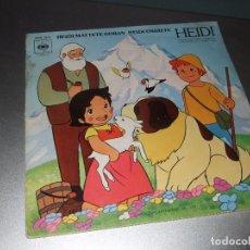 Discos de vinilo: LP VINILO SINGLE SERIE TV HEIDI. Lote 132960854
