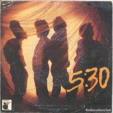Discos de vinilo: 5:30 / VESTIDO NEGRO / AL FIN SOLO (III MORROROCK) SINGLE PROMO 1986. Lote 132968102
