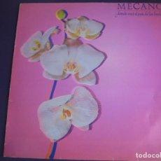 Discos de vinilo: MECANO LP CBS PROMOCIONAL 1983 DONDE ESTA EL PAIS DE LAS HADAS? - . Lote 132970994