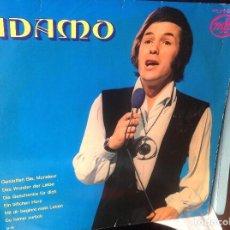 Discos de vinilo: ADAMO...LP MADE IN GERMANY. .- GESTATTEN SIE,MONSIEUR + EIN BIBCHEN HERZ + OTRAS. Lote 132975274