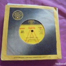 Discos de vinilo: MAX WALL. THE DEVIL BOMB / WHY SHOULD I CARE. PROMOCIONAL. DJM, 1976. EDC. INGLESA. . Lote 132975538
