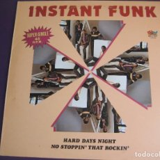 Discos de vinilo: INSTANT FUNK MAXI SINGLE SALSOUL BELTER 1983 HARD DAY'S NIGHT (BEATLES COVER) - DISCO . Lote 132980886