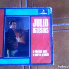 Discos de vinilo: DISCO DE JULIO IGLESIAS AÑO 1969. Lote 132980982