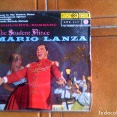 Discos de vinilo: DISCO DE MARIO LANZA AÑO 1961 . Lote 132981374