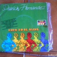 Disques de vinyle: DISCO DE PATRICK FERNANDEZ. Lote 132983354