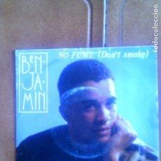 Discos de vinilo: DICO DE BENJAMIN , NO FUME . Lote 132984214