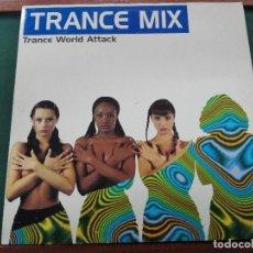 Discos de vinilo: TRANCE MIX-TRANCE WORLD ATTACK-TONI PERET JOSE MªCASTELLS-3LP-1994ESTADO EXCELENTE SIN APARENTE USO. Lote 132988126