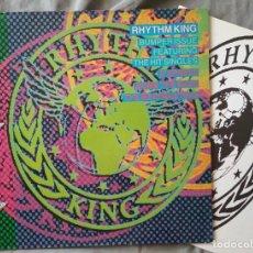 Discos de vinilo: VARIOS ARTISTAS - RHYTHM KING BUMPER ISSUE. LP EDICIÓN ESPAÑOLA 1989. Lote 132991610