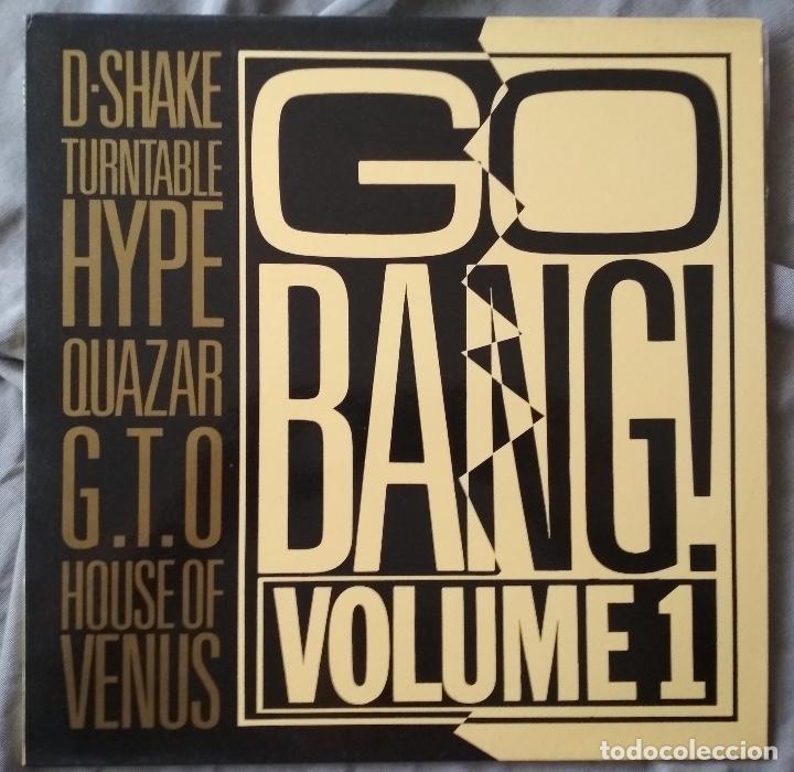 VARIOS ARTISTAS - GO BANG! VOLUME 1. LP EDICIÓN ESPAÑOLA 1990 (Música - Discos - LP Vinilo - Disco y Dance)